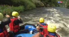 Le 13 heures du 20 août 2014 : Balade en Auvergne : rafting sur la rivi� Allier �rade (3/5) - 1991.906