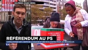 """Le référendum sur l'unité de la gauche : """"Une manœuvre politicienne"""" pour E.Cosse"""