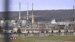 Le site Petroplus de Petit-Couronne