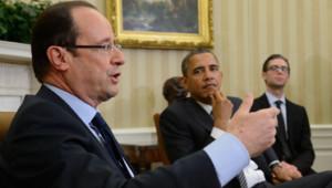 Première rencontre entre François Hollande et Barack Obama à Washington (18 mai 2012)