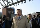 Xavier Broseta arrive au procès à Bobigny, le 27/05/16