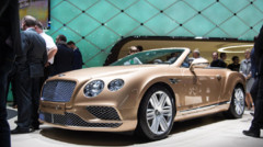 Bentley Continental GT au Salon de Genève 2015