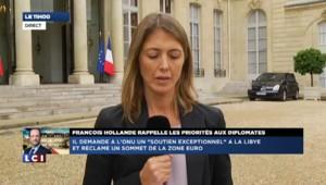 Conférence des ambassadeurs : François Hollande sur plusieurs fronts