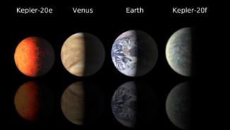 Exoplanètes découvertes en décembre 2011 par le satellite Kepler