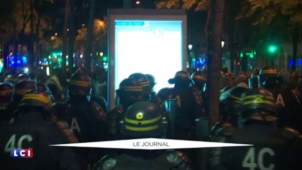 Nuit debout : la place de la République évacuée après l'irruption de casseurs