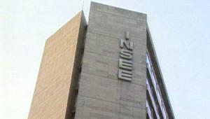TF1/LCI Façade de l'Insee