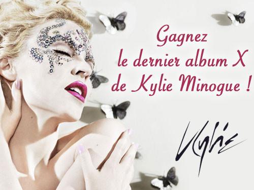 Jouez et gagnez le dernier album X de Kylie Minogue