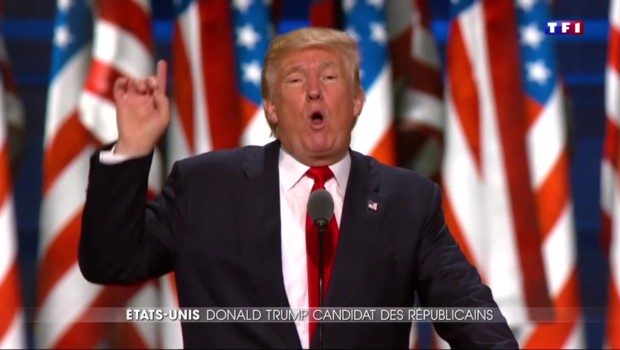 A Cleveland, Trump promet de rendre fierté et grandeur aux Etats-Unis