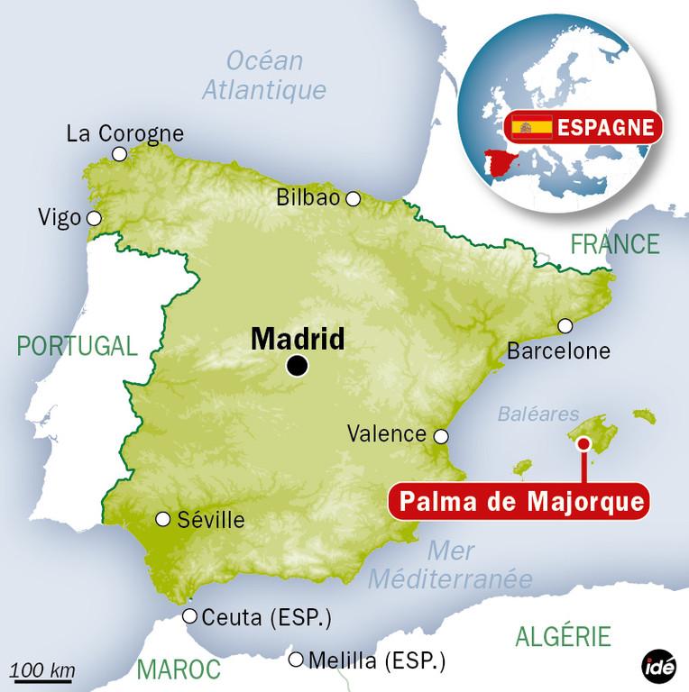 Carte De Mallorca Espagne | My blog