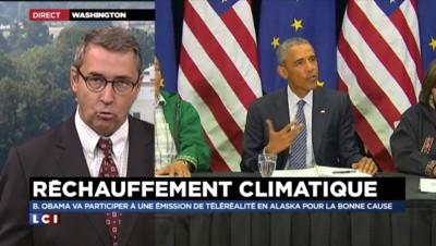 """Climat : Obama dans une télé-réalité pour """"sensibiliser les Américains"""""""