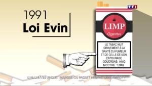 De la séduction à la dissuasion, l'évolution du paquet de cigarettes.