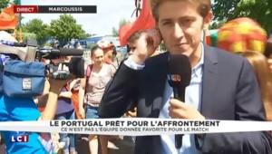 Euro 2016 : l'ambiance monte doucement pour les supporteurs portugais