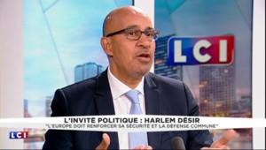 """Harlem Désir : """"Nous avons une union monétaire et non une union économique"""""""