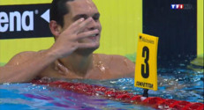 Le 20 heures du 24 août 2014 : Florent Manaudou champion d%u2019Europe du 50 m nage libre : une victoire �asante - 108.23299999999999