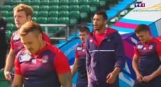 Mondial de rugby : les Anglais retiennent leur souffle avant l'Australie