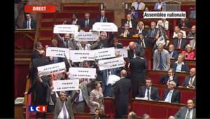 Nouvel incident de séance à l'Assemblée