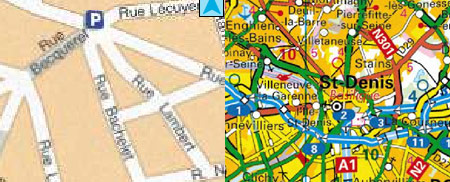 Geoportail vue carte tf1.fr lci.fr