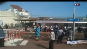 Le 20 heures du 12 juillet 2013 : Un train d�ille �r�gny : premi�s vid� amateurs - 2466.11