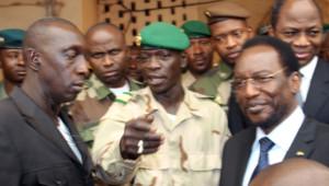 Dioncounda Traoré et Amadou Sanogo.