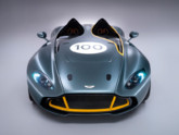 L&#039;Aston Martin CC100 Speedster, concept-car clbrant le centenaire de la marque, rvl le 19 mai 2013.