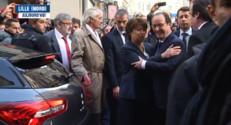 Le 13 heures du 22 novembre 2014 : Rencontre entre Hollande et Aubry en marge de la Coupe Davis - 407.086