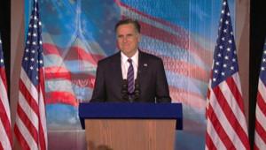 Mitt Romney reconnaît sa défaite à la présidentielle américaine face à Barack Obama, Boston, 7/11/12