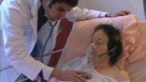 Un service spécial lutte contre l'épidémie de grippe à l'hôpital de Nice