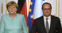 Angela Merkel et François Hollande laissent la porte ouverte à la Grèce pour revenir négocier sa dette