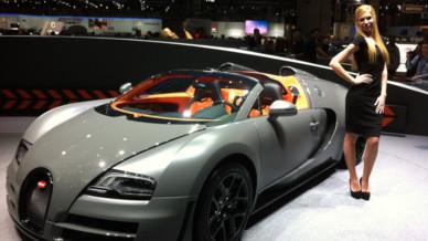 Bugatti Veyron Grand Sport Vitesse Salon Genève 2012