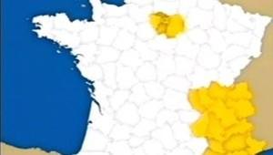 carte France régions richesse PIB