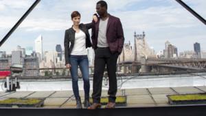 """Chyler Leigh est Caitlyn Sullivan et Jacky Ido est Leo dans la série évènement TF1 """"Taxi : Brooklyn"""", co-produite par EuropaCorp Television"""