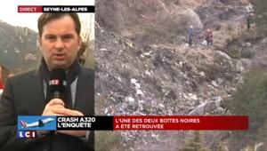 """Crash de l'A320 : """"La première boîte noire a été retrouvée"""""""