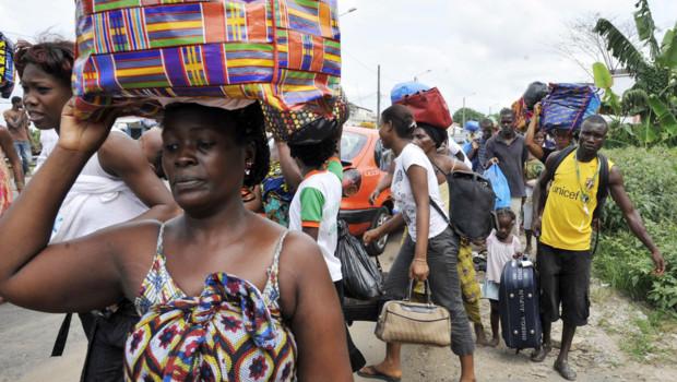 Refugiés Ivoiriens