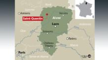 Carte de localisation de Saint-Quentin.