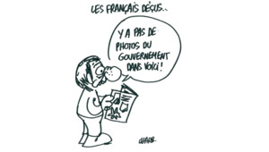 Dessin de Charb le 22 mai 2012