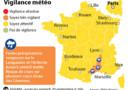infographie météo alerte orange 3 départements 19 septembre 2014