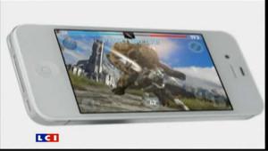 L'iPhone 4S d'Apple, présenté le 4 octobre 2011