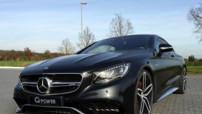 La Mercedes S63 AMG Coupé retouchée par G-Power. Conséquences : 705 chevaux sous le capot et un 0-100 km/h expédié en 3,8 secondes !