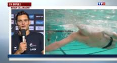 """Le 20 heures du 24 août 2014 : Florent Manaudou champion d%u2019Europe du 50 m nage libre : """"Une part de d�ntraction fait ma force"""" - 330.836"""