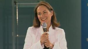 TF1/LCI - Ségolène Royal lors du débat participatif à Illkirch-Graffenstaden, le 20 décembre 2006
