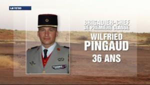Wilfried Pingaud, brigadier-chef de première classe de 36 ans, est décédé dans des combats entre troupes françaises et forces islamistes au Mali, le 6 mars 2013.
