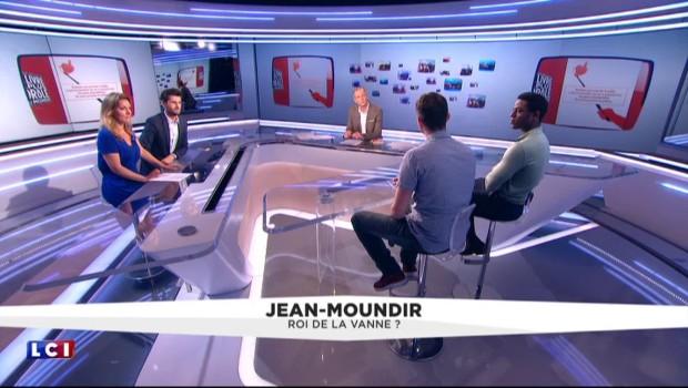 Jean Moundir : Comment son talent a-t-il été repéré par des humoristes ?