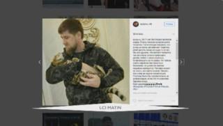 Le président tchétchène a perdu son chat, et ça fait rire la Toile