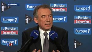 """La """"déclaration d'indépendance"""" de Bayrou"""