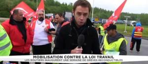 Loi Travail : la plateforme de Dourges, poumon économique des Hauts-de-France, bloquée par les routiers