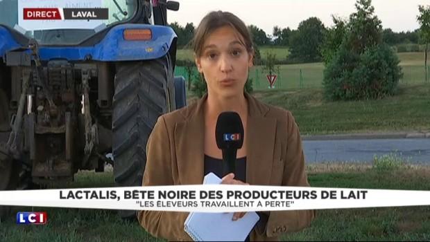 """Producteurs de lait en colère contre Lactalis : """"entre révolte et abattement"""", il explique"""