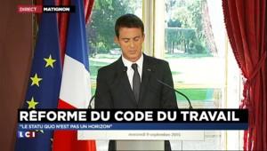 """Réforme du code du travail : pour Valls, """"les salariés ignorent leurs droits"""""""