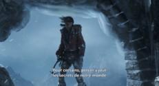 Rise of the Tomb Raider : Lara Croft face à la montagne