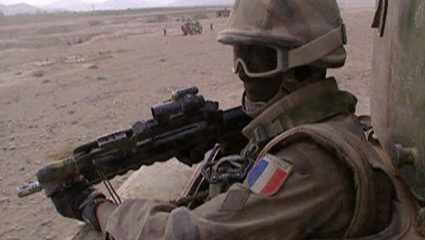 Soldat français en Afghanistan