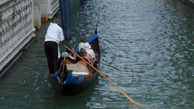 Une gondole dans les canaux de Venise (archives)